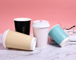 Single Wall 90mm 8oz Eco Friendly Paper Cups For Hot Drinking